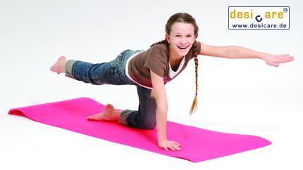 Gymnastikmatte Stand