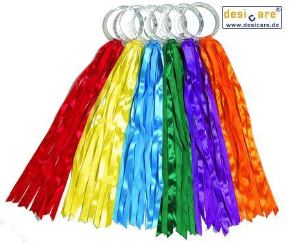 Rainbow Hoops large,