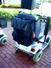 Rollstuhl Shoppingtasche, schwarz