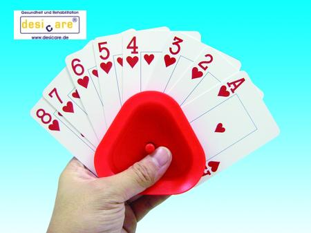 Kartenhalter dreieck