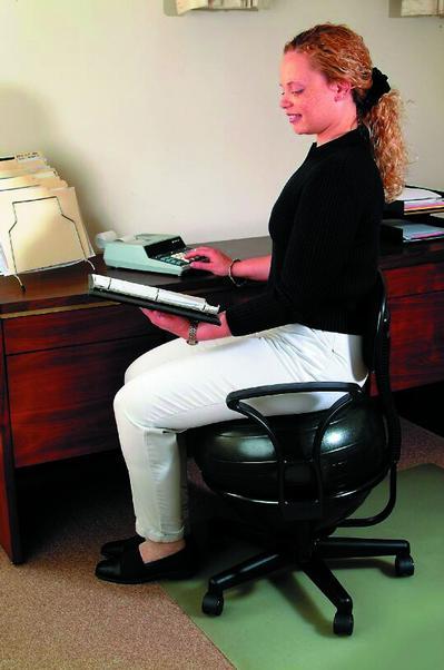 Sitzkissen luftgefüllt-rund mit Sensonoppen