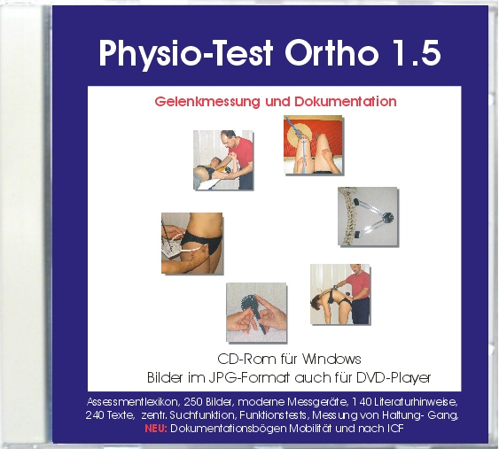 Physio-Test Ortho 1.5 (CD-Rom)