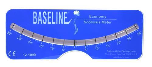 Escoliómetro - Baseline
