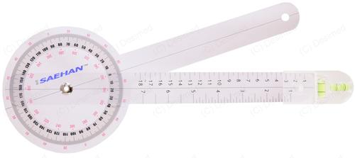 Goniometer absolute axis with buildt-in level 32cm
