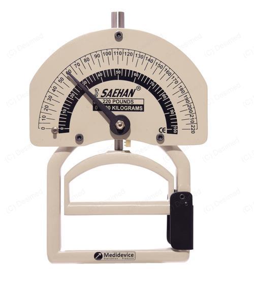 Dinamómetro manual Smedley