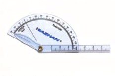 Finger-Flexion/Hyper-Extension Goniometer