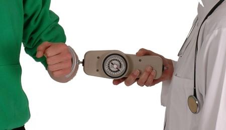 Druck- und Zug Dynamometer 45kg